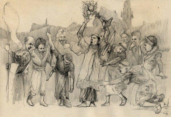 W 1564 roku doszło do jednego z największych wydarzeń w historii lubelskiej reformacji. Podczas procesji niejaki Erazm Otwinowski wyrwał księdzu monstrancję, a następnie ją podeptał. Dlaczego? Bo zgodnie z ideologią ariańską kult eucharystii był wielkim grzechem. Za ten czyn groziła Otwinowskiemu kara śmierci, lecz ostatecznie skończyło się na odszkodowaniu za zniszczone mienie...>>> czytaj więcej: http://teatrnn.pl/instrukcja/reformacja-w-lublinie/ #reformacja #Lublin #Luter #Otwinowski