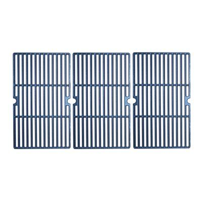 Heavy Duty BBQ Parts 64183 Matte Cast Iron Cooking Grid for Char-Broil Brand Gas Grills
