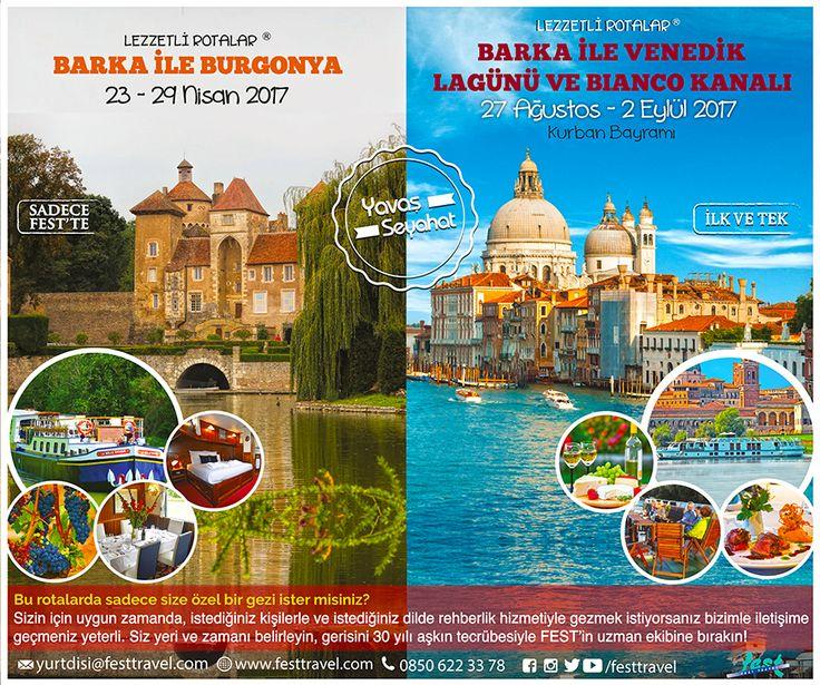 Barka ile Avrupa'da Lezzet, Tarih ve Keyif Dolu Yolculuklar