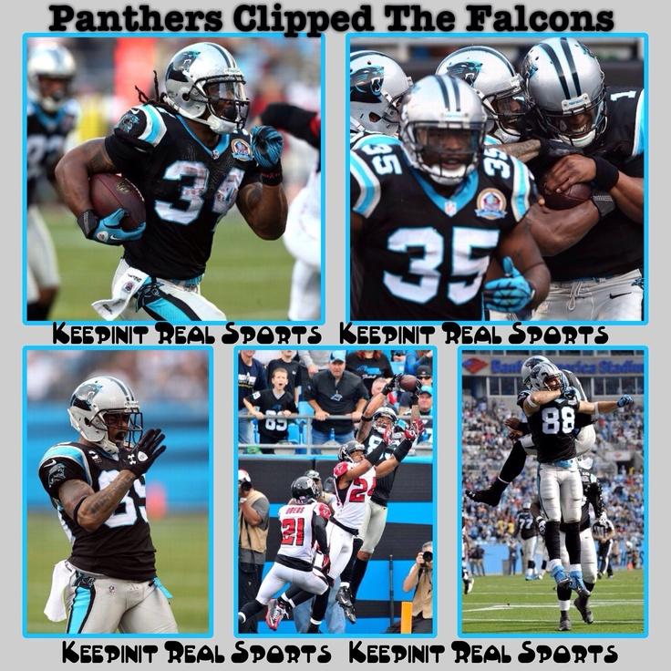 Keepinit Real NFL Stats: Falcons - vs - Panthers  Falcons 20 (11-2, 5-2 away) Panthers 30 (4-9, 2-5 home) FINAL  Top Performers Passing: M. Ryan (ATL) - 342 YDS, 2 TD, 1 INT Rushing: C. Newton (CAR) - 9 CAR, 116 YDS, 1 TD Receiving: R. White (ATL) - 9 REC, 117 YDS, 1 TD