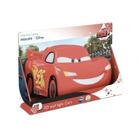 3D Led Cars Wandlamp Model  Op voorraad Staat  Nieuw De Philips 3D LED Wandlamp Cars van Disney is bijzondere verlichting voor de kinderkamer. De Cars LED lamp is eenvoudig op te hangen aan de muur met de meegeleverde schroeven en pluggen en werkt op 3 x 1.5V AAA batterijen. De lamp is energiezuinige LED verlichting en wordt niet heet en is daarom zeer veilig voor de kinderkamer.