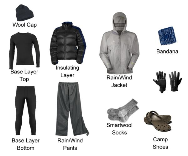 Cold Weather Hiking Clothing See more amazingly cool camp and hiking gear at bestcampgear.net!