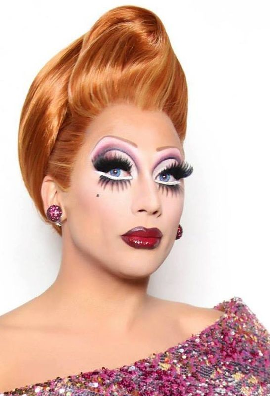 I love the idea of using lower lashes or extending the white part of the eye. This dramatic style would make it look distinctly transvestite.