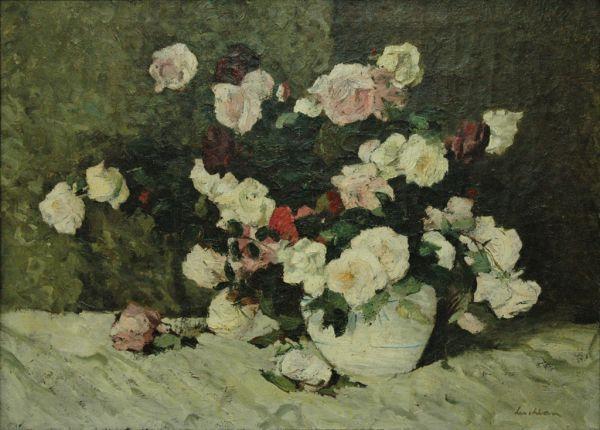 Stefan Luchian (Romanian painter) - Roses/Trandafiri http://pictify.com/214942/stefan-luchian-trandafiri