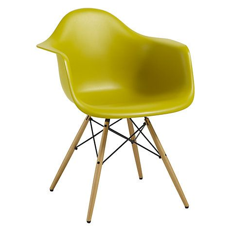 Buy Vitra Eames DAW Armchair Online at johnlewis.com