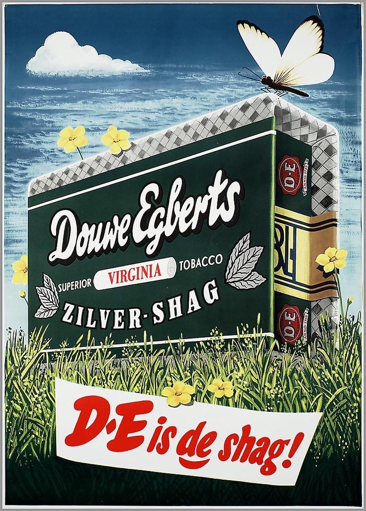 Douwe Egberts Shag 1953-1954