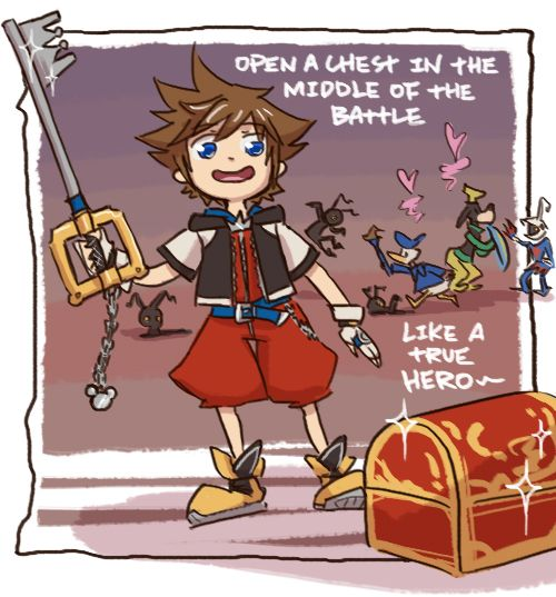17 best images about Kingdom hearts jokes on Pinterest | Donald o ...