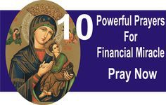 10 Powerful Prayers For Financial Miracle: Pray Now - Catholics Online