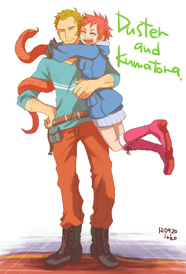 MOTHER 3 Duster And Kumatora By SopranoFighter