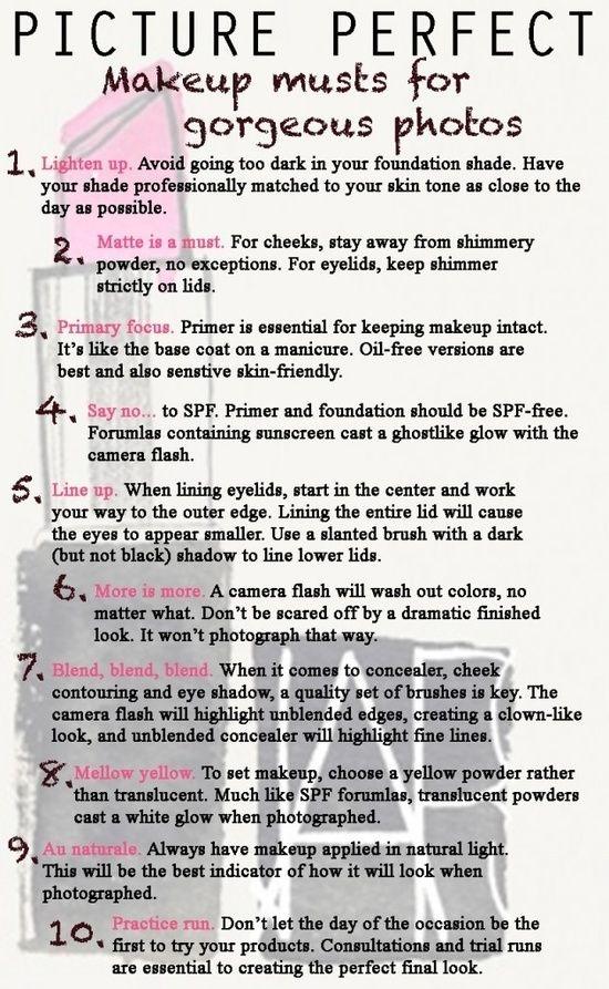makeup tips for photos by msaifullah9