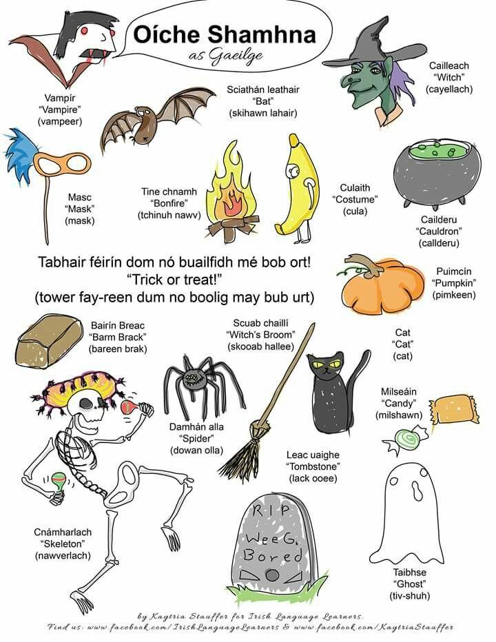 Oiche Shamhna-Halloween