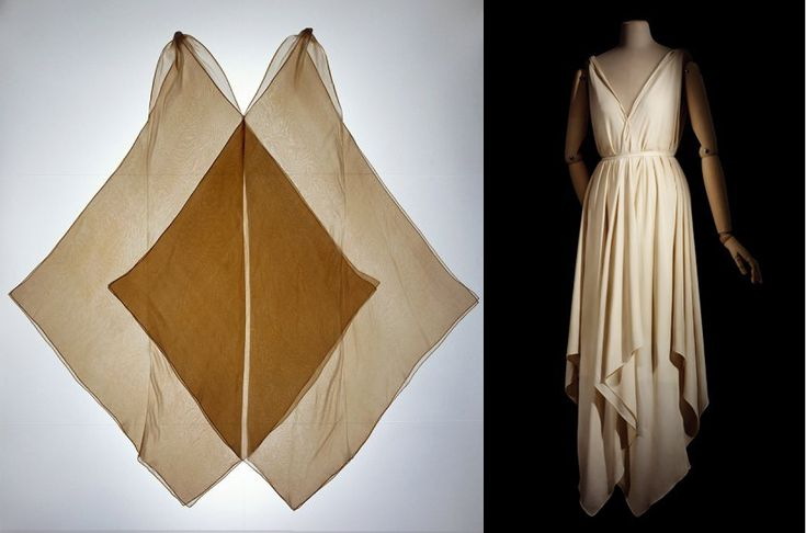 Ok, let's all get busy with a couple of hankies and try to figure out how to drape them into Vionnet's jabot dress....vionnet-1920.jpg 830×549 pixels