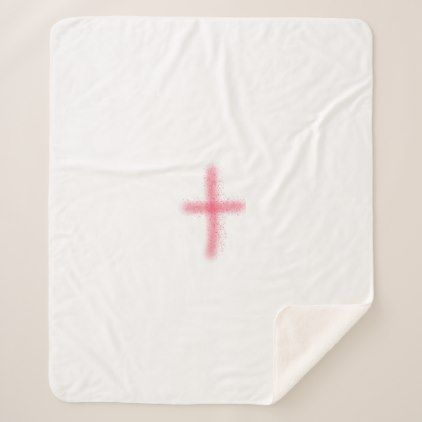 blood of christ cross blanket - diy cyo customize create your own #personalize