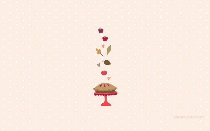 Sweetie Pie Desktop Wallpaper - LaurenConrad.com