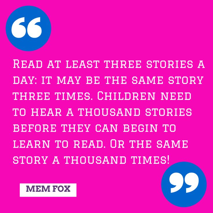 MEM FOX Read at least three stories a day: it may be the same story...