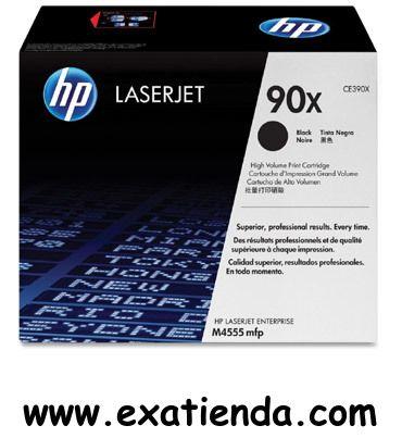 Ya disponible T?ner HP ce390x 90x negro   (por sólo 297.95 € IVA incluído):   - Cartucho de tóner negro HP 90X para LaserJet - Producción de papel: 24000 páginas - Productos compatibles: LaserJet Enterprise M4555 MFP series LaserJet Enterprise 600 M602, M603 Garantía de fabricante  http://www.exabyteinformatica.com/tienda/3279-toner-hp-ce390x-90x-negro #hp #exabyteinformatica