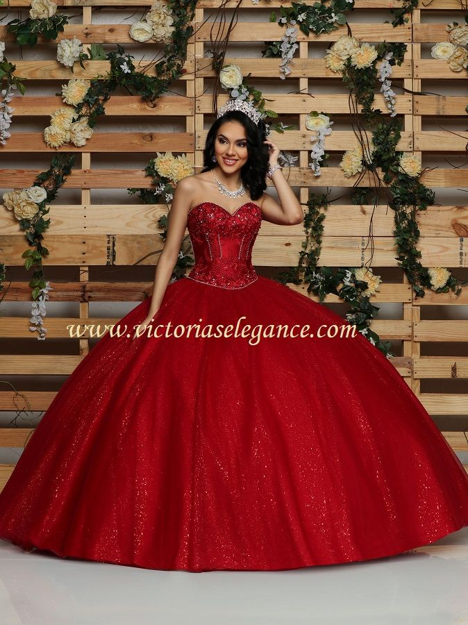 7874f45bc80 Glitter tulle ball gown with high lo bridal satin detachable skirt