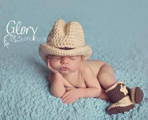 Crochet Cowboy Outfit Pattern Video Tutorial