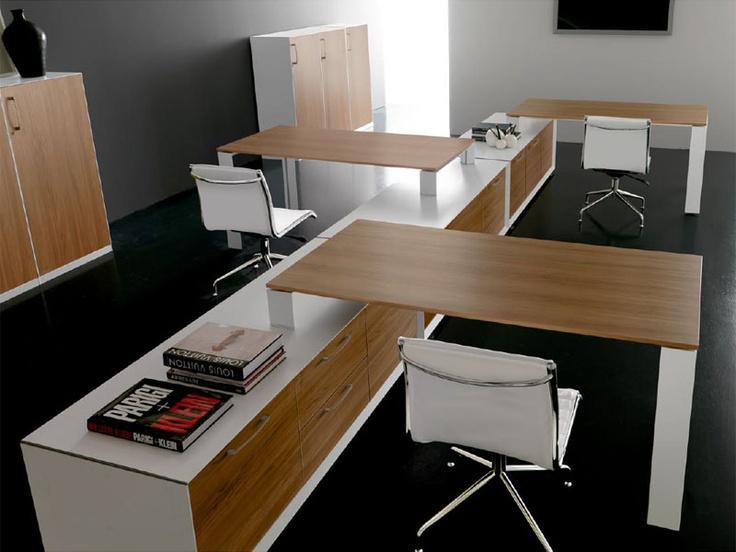 Rectangular office desk AGORA' | Office desk - Brunoffice