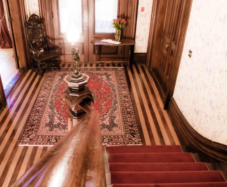 Grand Staircase, Queen Anne Inn- Annapolis Royal.