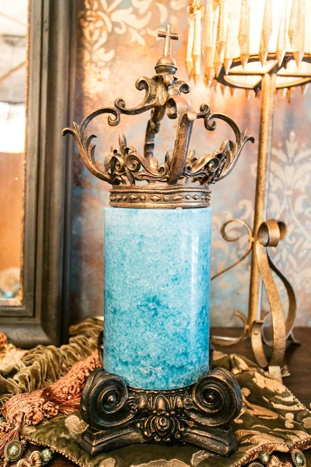 Found on Donna Moss Designs. I need these Designer Candles.