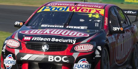 A flying Kiwi was expected to ruffle feathers in the V8 Supercars action at the Australian Formula One Grand Prix in Melbourne - but few would have predicted Fabian Coulthard....