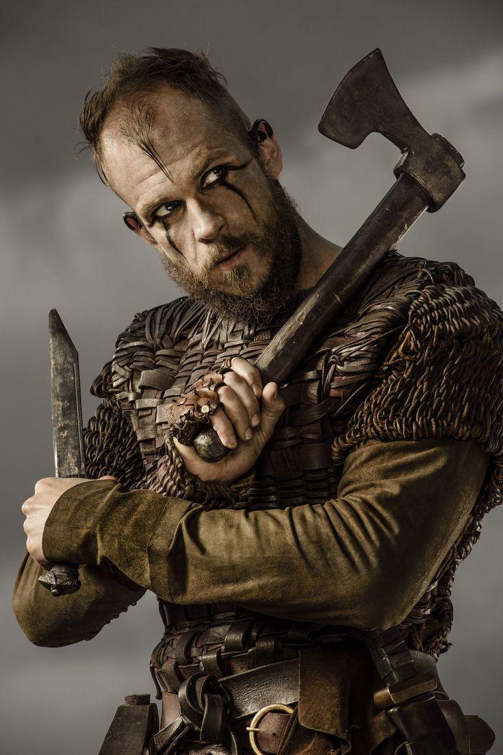 #GustafSkarsgård #Floki #Vikings #HistoryChannel Season Three Promo Pic
