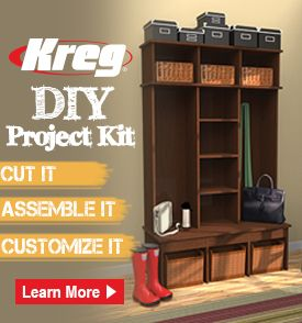 129 best kreg projects images on pinterest woodworking you can build beautiful custom projects for your home with the kreg diy project kit solutioingenieria Choice Image