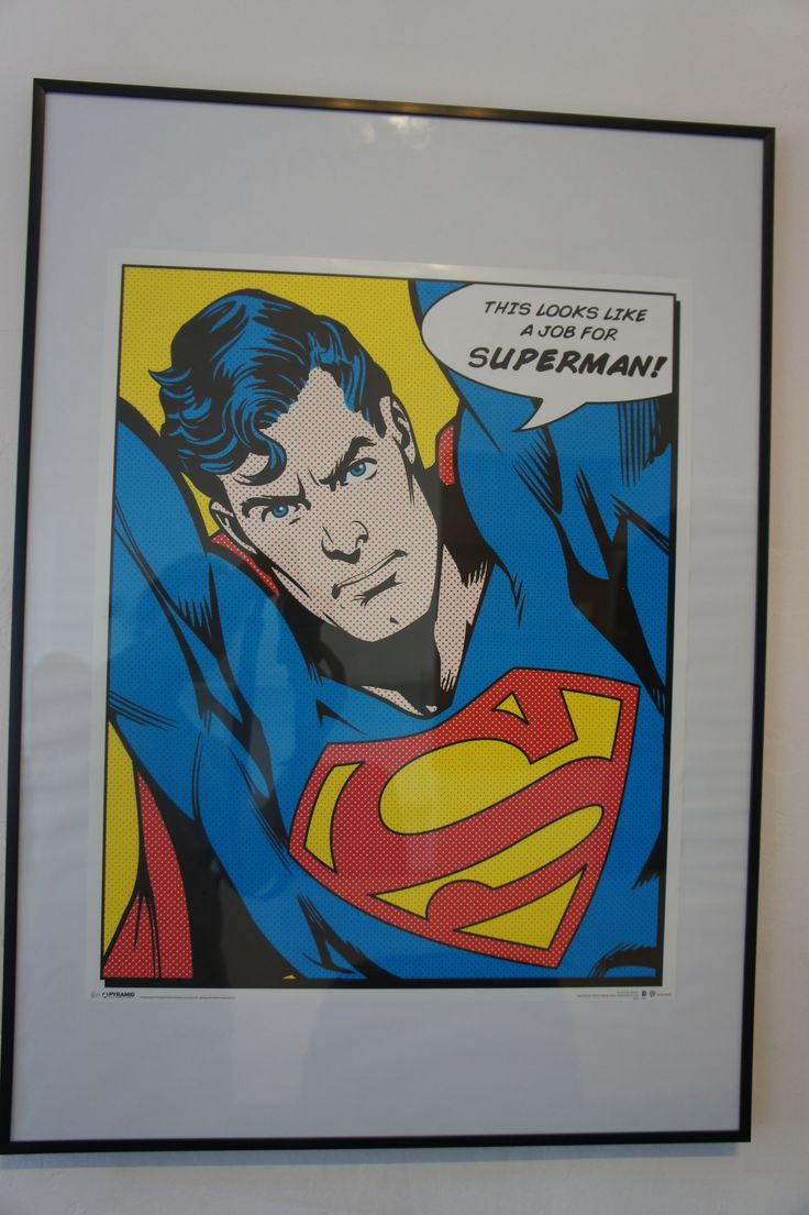 This looks like a job for Superman! #superman #poster #vintage #motivation #classic #marvel #office #iteo
