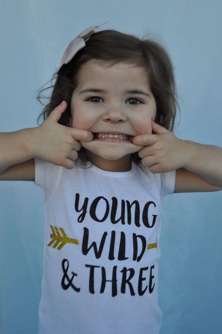 Young Wild and Three Girls Tee