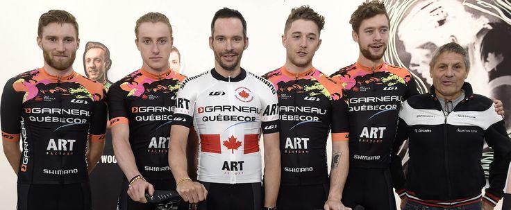 L'équipe Garneau-Québecor est financée en partie par la vente de tableaux.