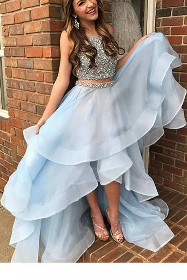 68 best Two Pieces Prom Dresses images on Pinterest | Ballroom dress ...