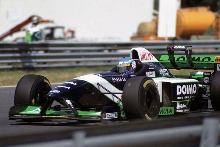 1995 GP Węgier (Hungaroring) Minardi M195B - Ford (Giovanni Lavaggi)