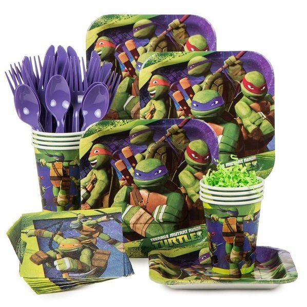 Teenage Mutant Ninja Turtles Birthday Kit (serves 8)