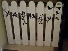 M s de 25 ideas incre bles sobre vallas de madera en - Valla seguridad escalera ...
