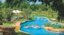 Lost Pines Resort & Spa in Austin, Texas   Crooked River Pool/ Lazy river, lots of kids activites