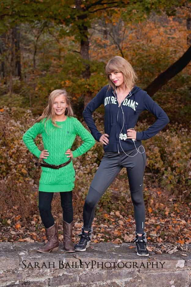 #GoIrish. | Taylor Swift Skipped An Awards Show To See Her Brother's College Play