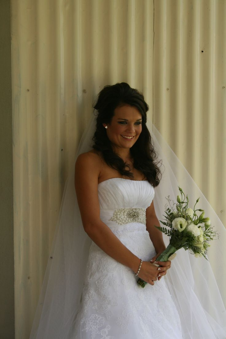Beautiful Nadia! Her dress is available at www.belledemoiselle.co.za