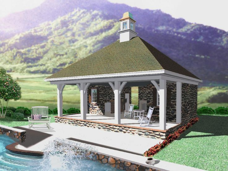 Best 20+ Pool House Plans Ideas On Pinterest