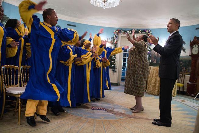 White House Photo of the Day: Crenshaw High School Elite Choir |