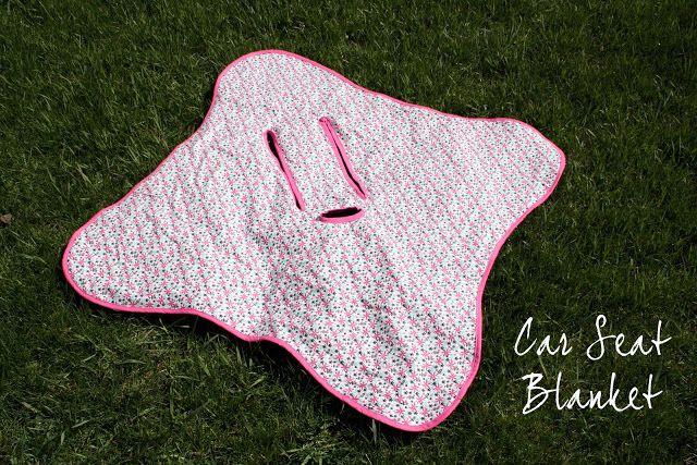 Love This Idea Diy Car Seat Swaddle Blanket Diy Sew