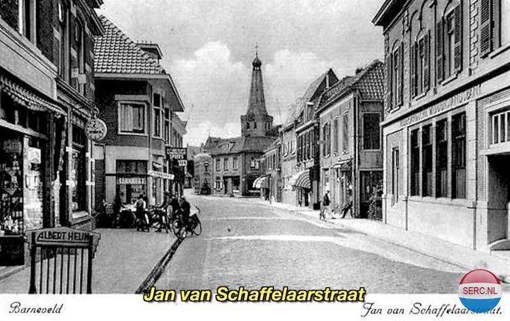 Jan van Schaffelaarstraat Barneveld (jaartal: 1950 tot 1960) - Foto's SERC