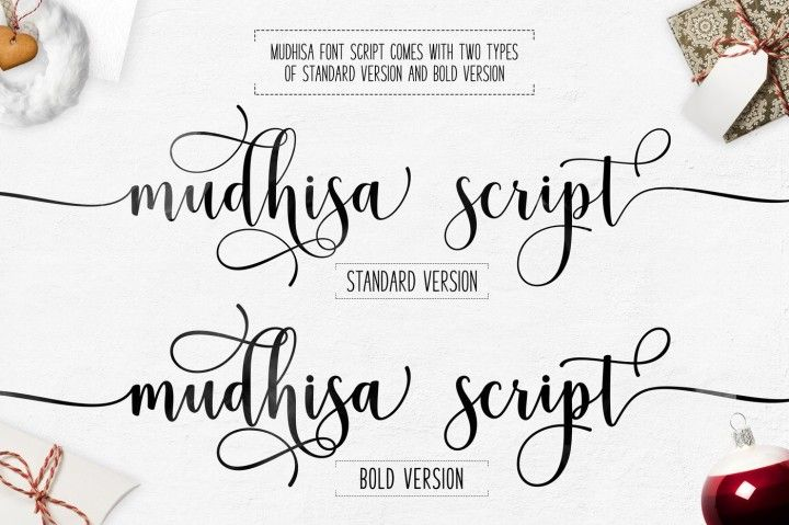 Mudhisa Script Font By Barland