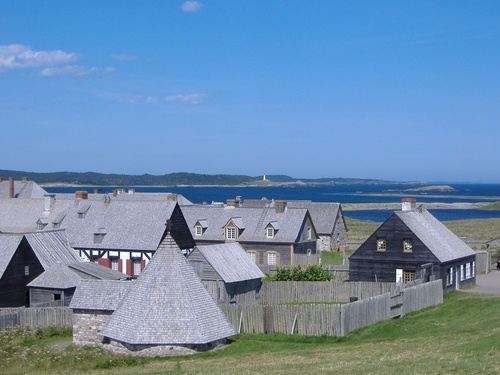 Fortress Louisbourg NS Canada