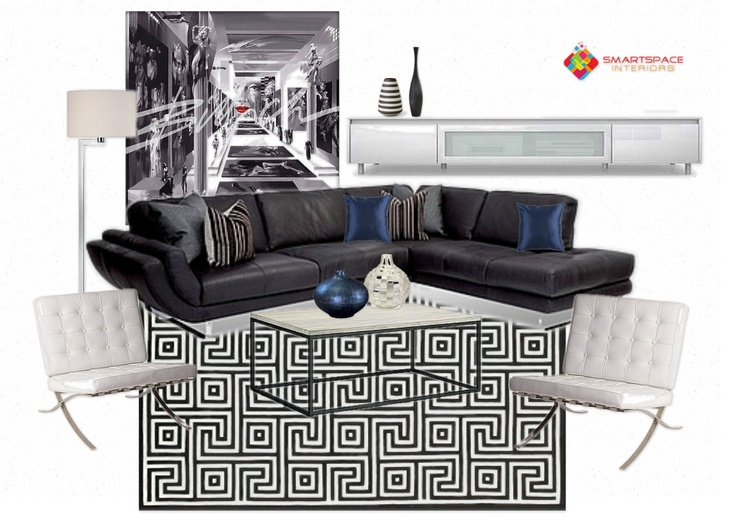 Living room design - feature Coco Republic sofa