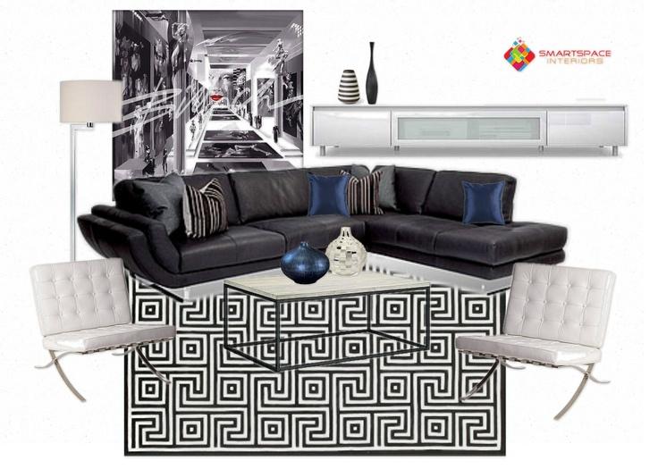 Living room design - feature Coco Republic sofa