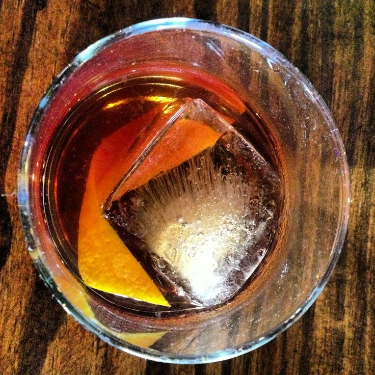 Rum old-fashion made with Diplomatico Reserva Exclusiva.... Gorgeous