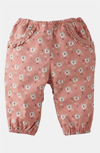 Mini Boden 'Pretty' Pants (Infant) available at #Nordstrom