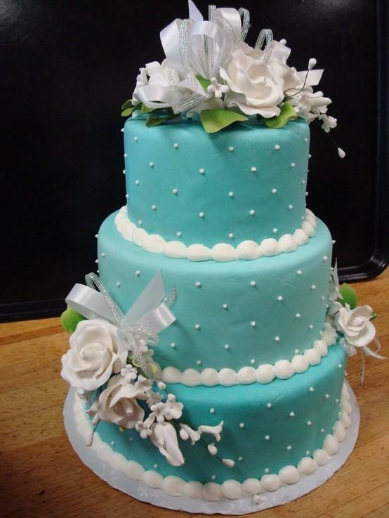 Yaz düğünleri için pasta önerimiz.