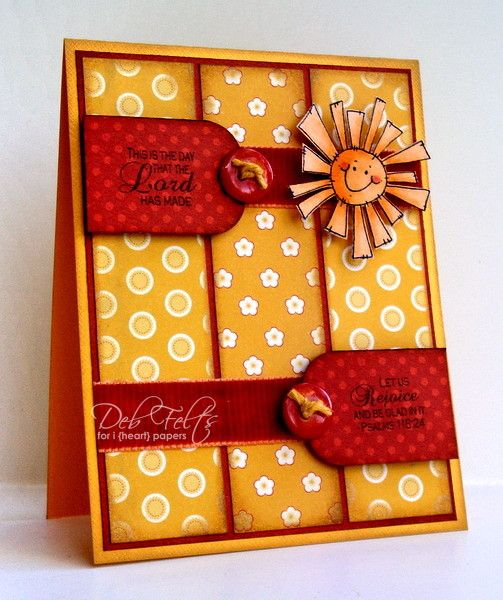 Sending Sunshine! by debdeb - Cards and Paper Crafts at Splitcoaststampers